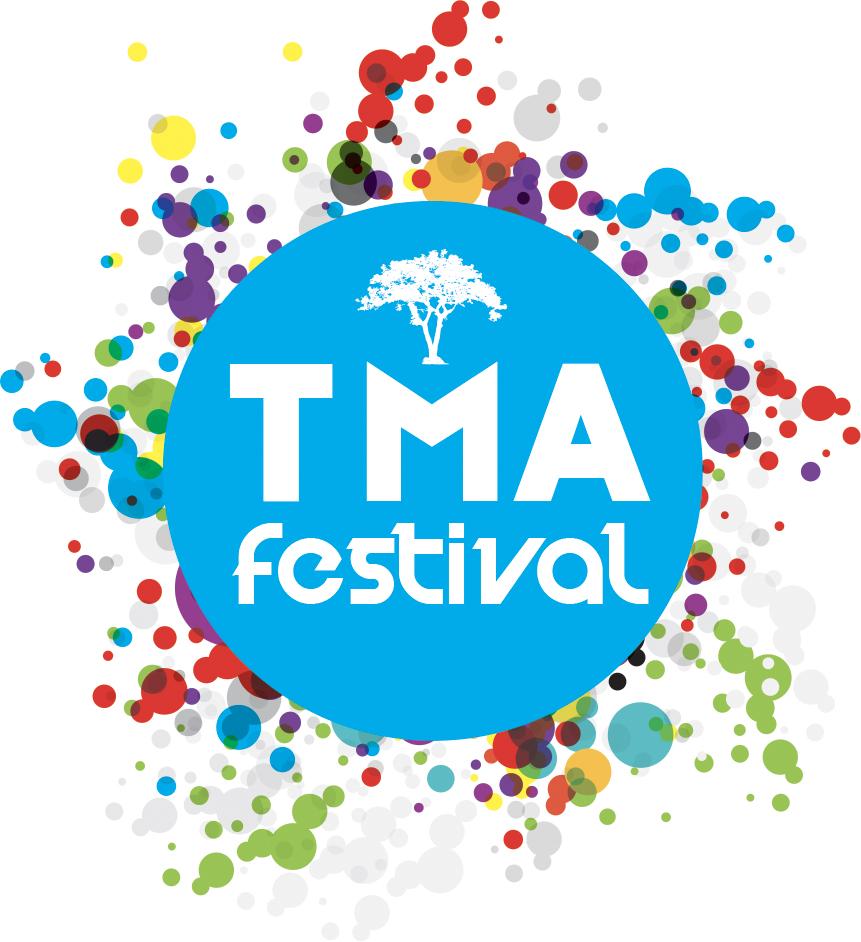 centre cercle rond - mention TMA Festival - explosion de couleurs